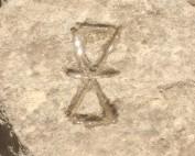 Symbole gravé à Knossos