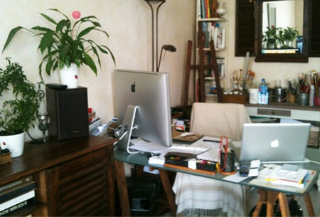 Graphiste freelance paris bureau