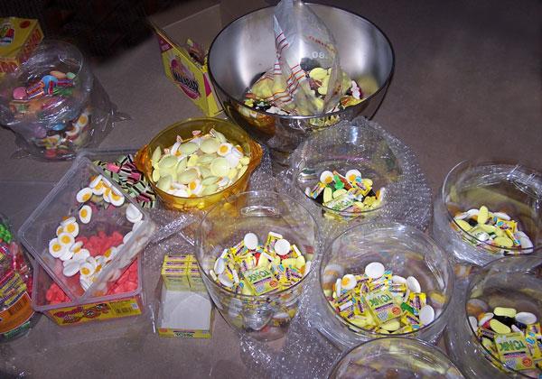Bonbons-jaunes